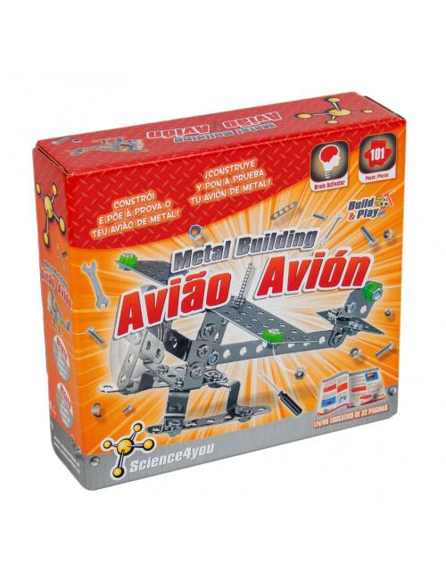 Metal building - Avião