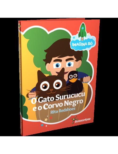 Livro Imagina Só - O Gato...