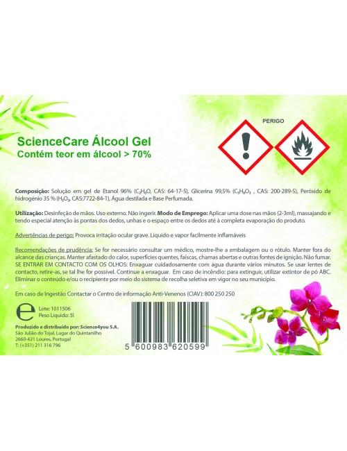 Álcool Gel 5L 70%...