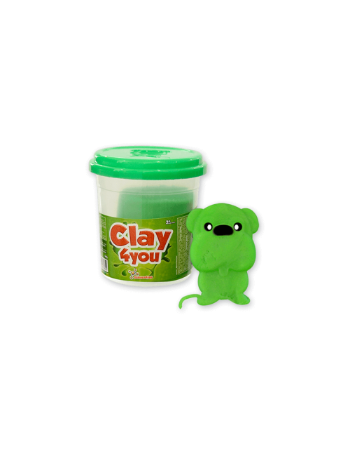 Plasticina Clay4you Verde