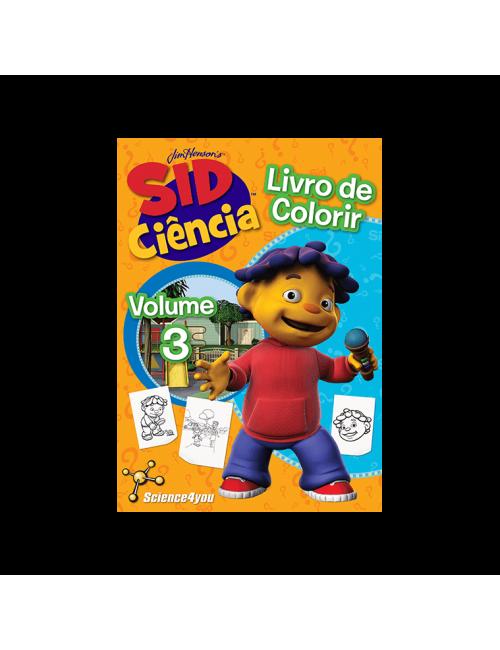 Livro de colorir Sid...