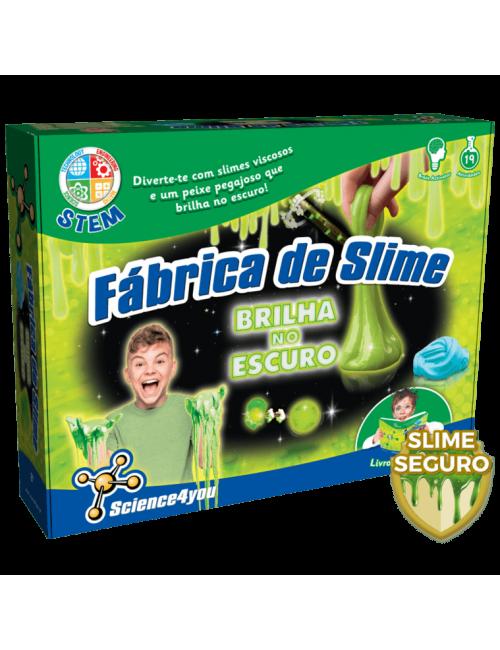 Fábrica de Slime - Brilha...