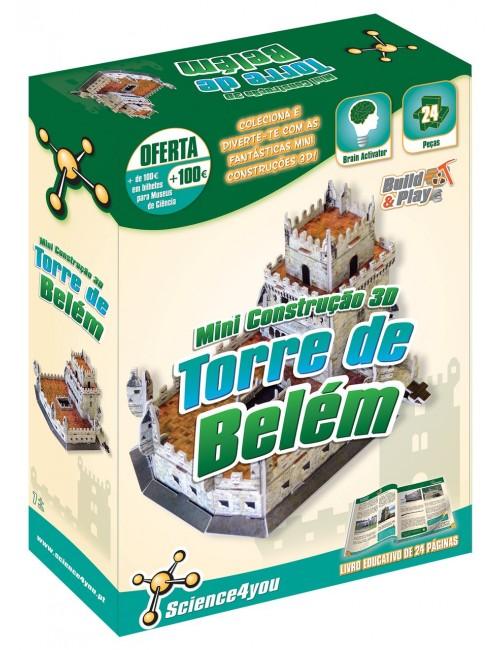 Construção 3D Torre Belém Mini