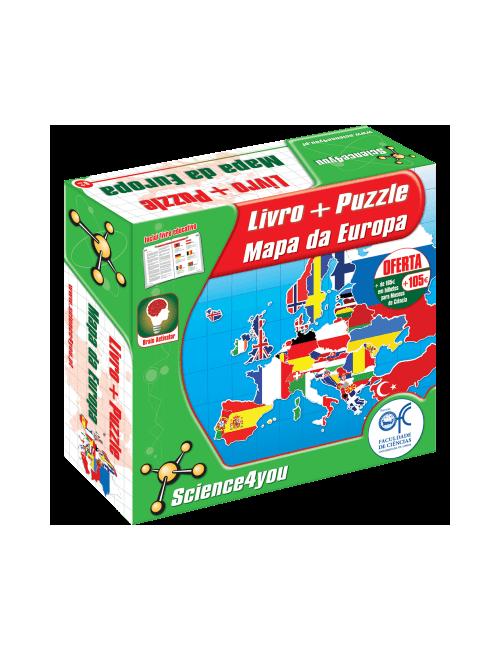 Puzzle Mapa Europa