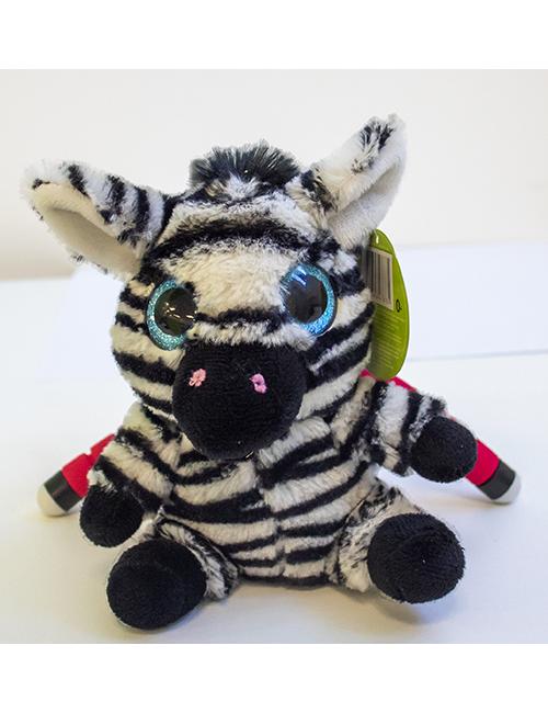 Peluche Zebra 17 cm