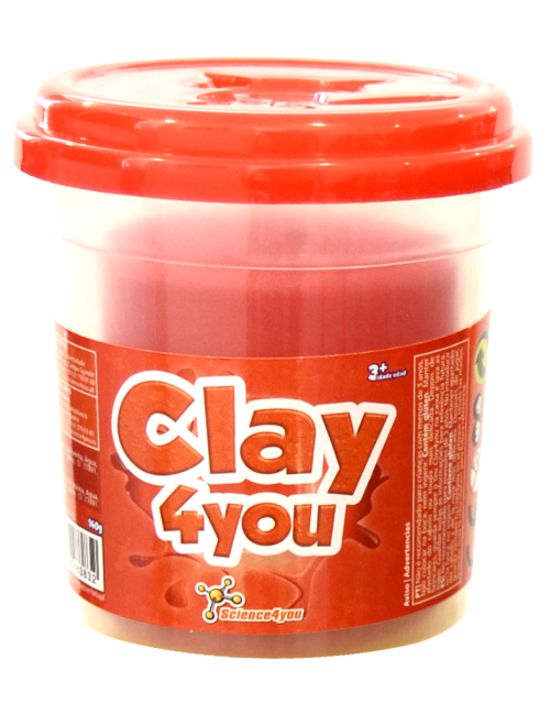 Plasticina Clay4you Vermelho
