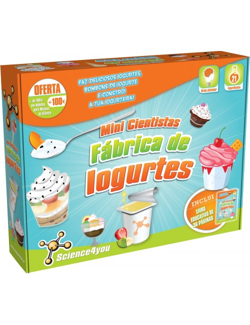 Fábrica de Iogurtes - Kit...