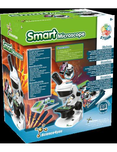 microscópio infantil inteligente