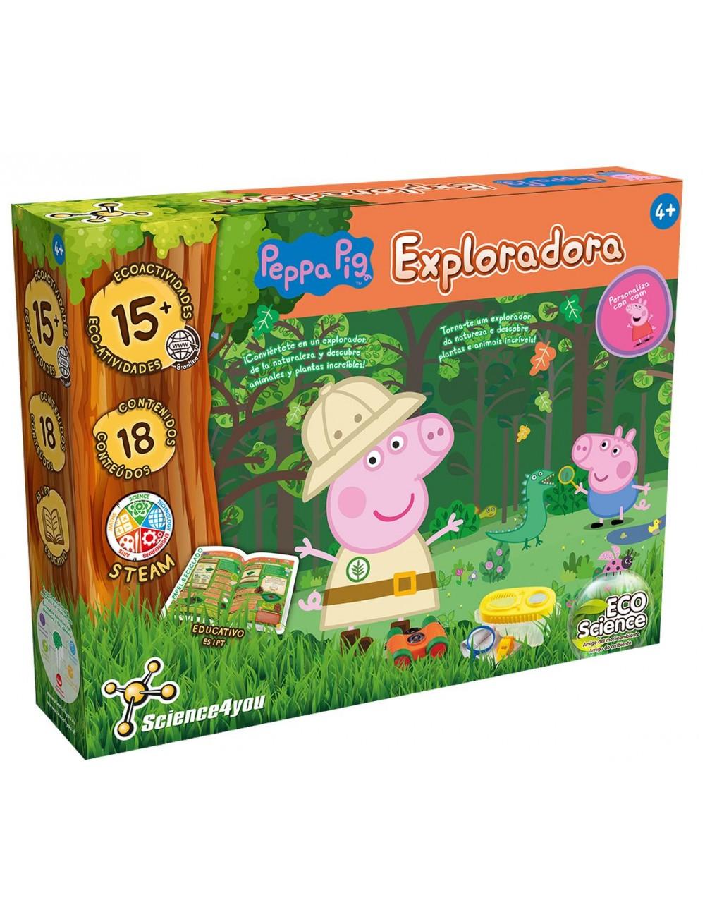 Explorador da Natureza com a Peppa Pig