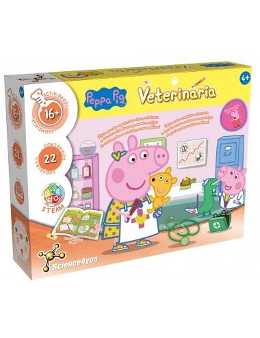 Peppa Pig o primeiro Kit de Veterinário