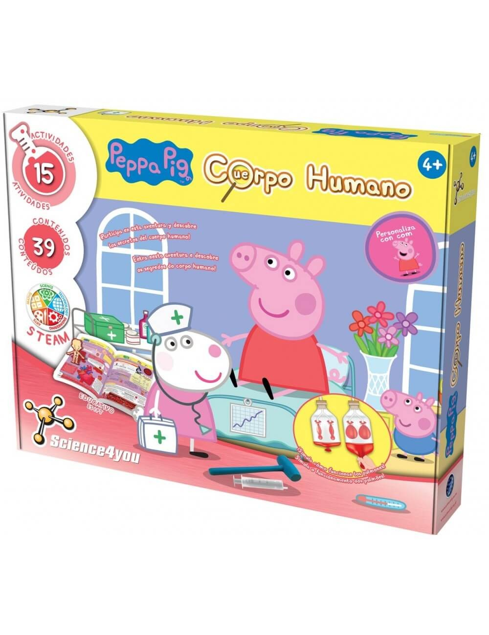 Peppa Pig Corpo Humano