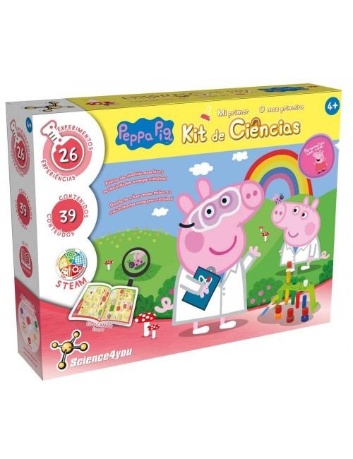 Peppa Pig O Meu Primeiro Kit de Ciências