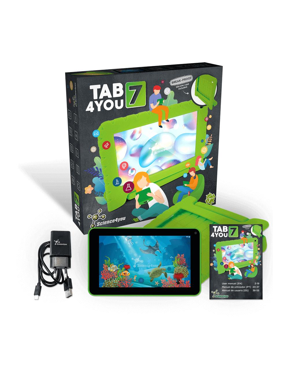 Tab4you 7 | Tablet + Capa de Proteção