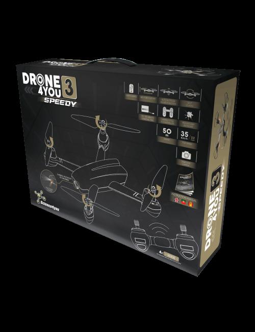 Drone com Câmara - Drone4you Speedy | Velocidade 35 km/h