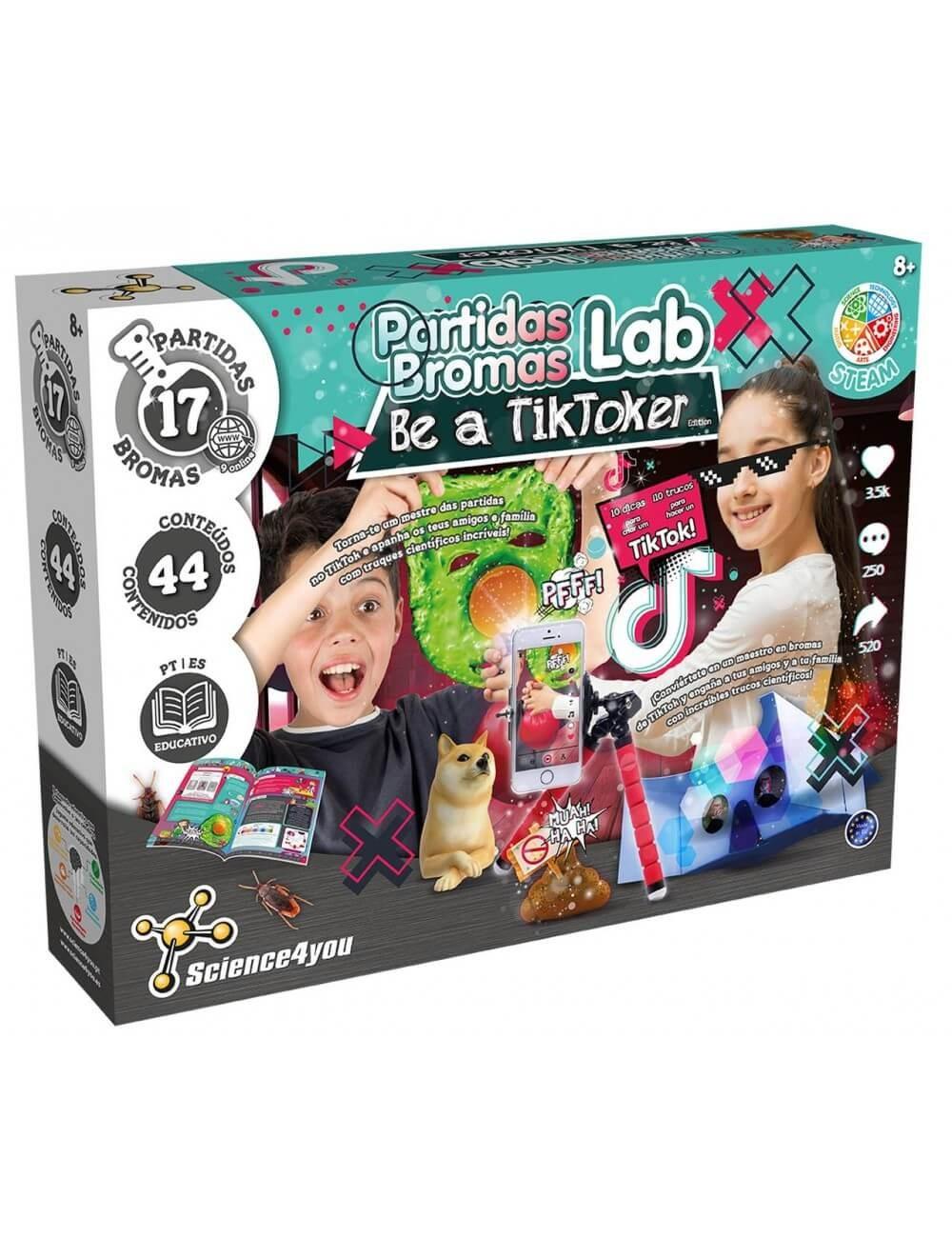 Laboratório de Partidas - Torna-te um TikToker