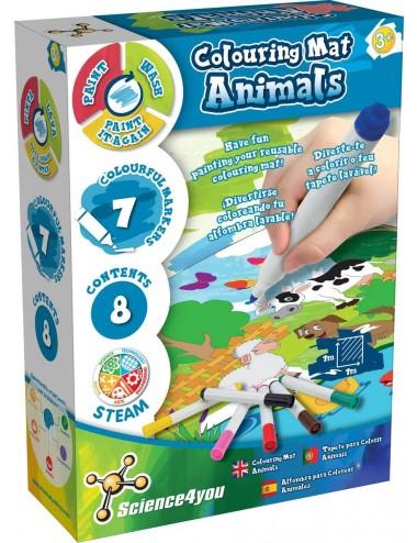Tapete para colorir - Animais