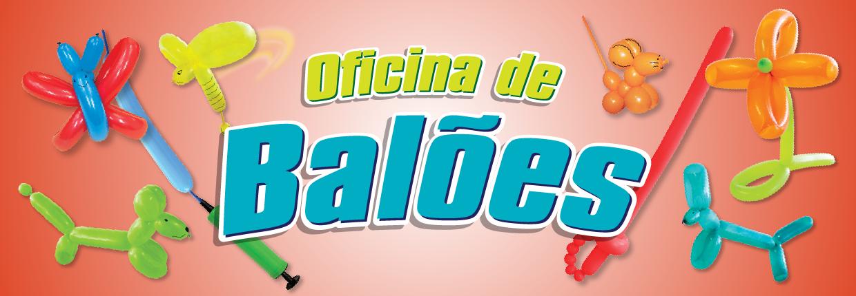 Banner Oficina de Balões